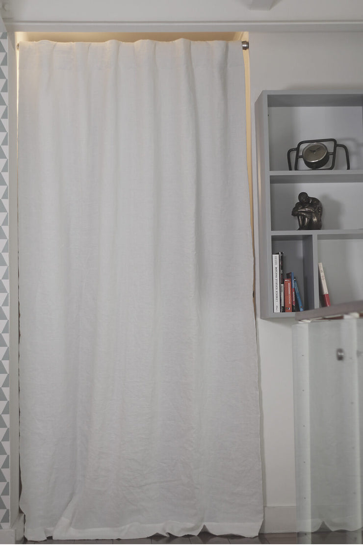 Basic Linen Curtain with Blackout Lining (rect. custom size)