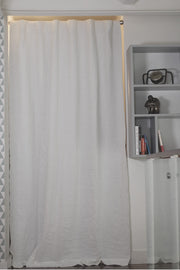 Basic Linen Curtain with Blackout Lining