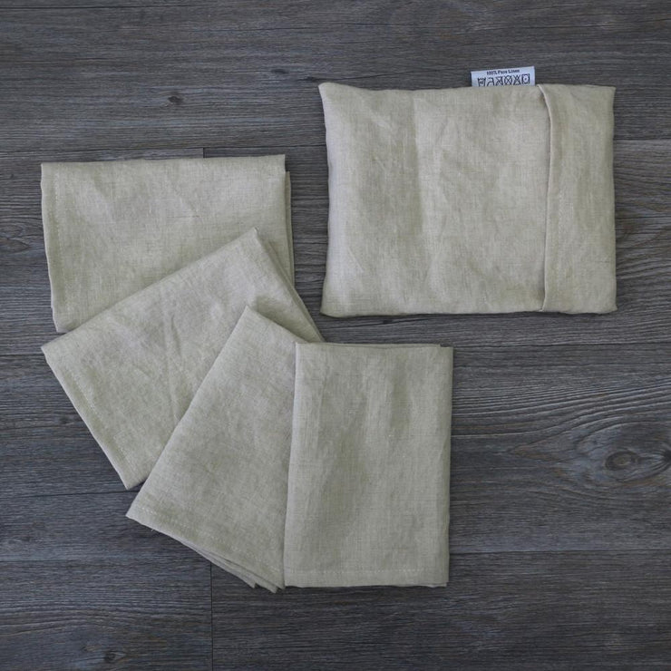 Linen Plain Table Napkin Set - linenshed.au - 7