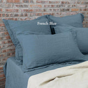 Flanged Linen Pillowcases (set of 2) - linenshed.au - 14