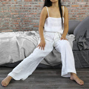 "Joan"" Linen Pajamas Trousers for Women - linenshed.au - 1"