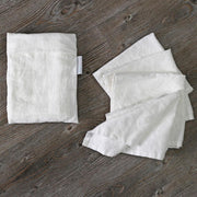 Linen Plain Table Napkin Set - linenshed.au - 1