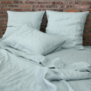 Housewife Linen Pillowcases Icy Blue (set of 2) - linenshed.au - 3