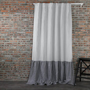 Skirt-Ruffles-Pure-Linen-Window-Curtain