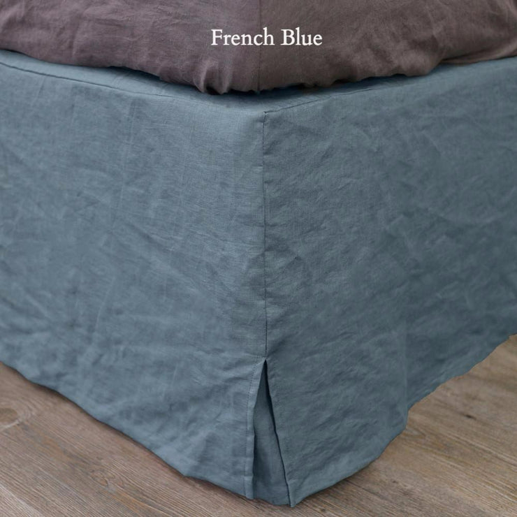 Linen Four Sided Bed Skirt - linenshed.au - 10