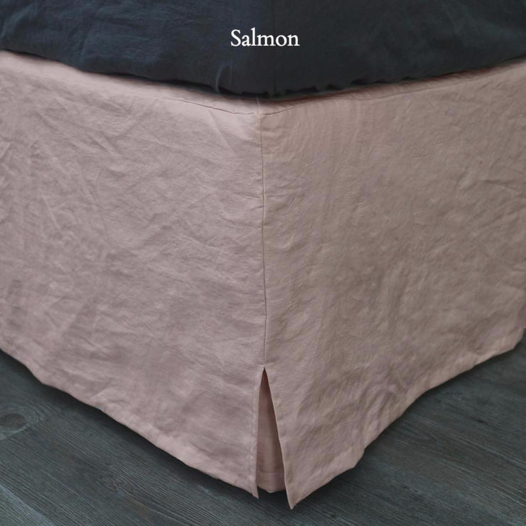 Linen Four Sided Bed Skirt - linenshed.au - 11