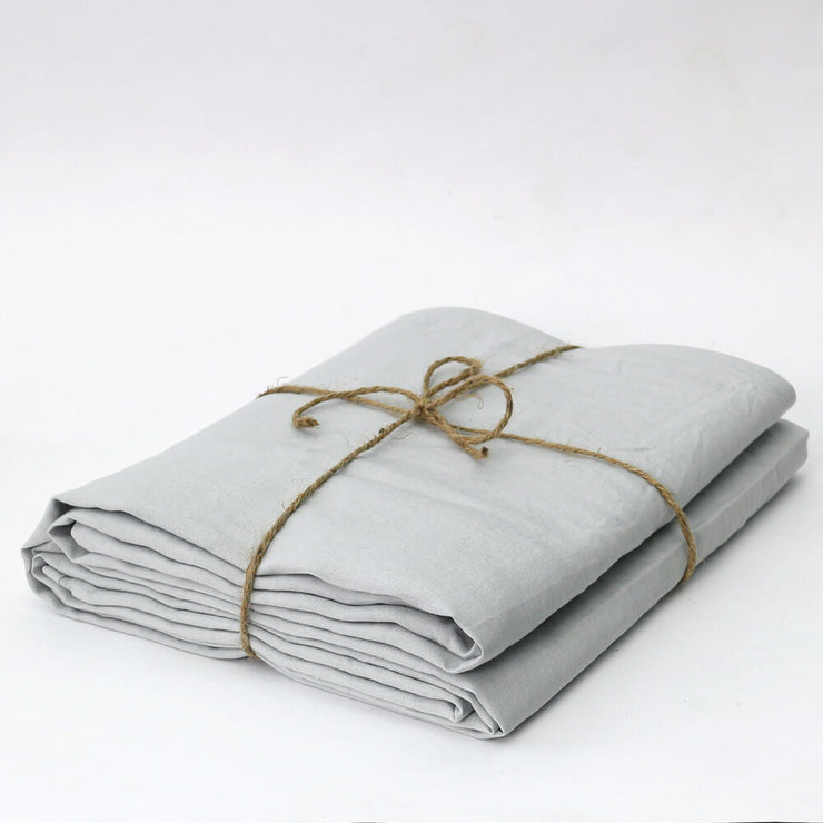 Bed Linen Flat Sheet Stone Grey - linenshed.au