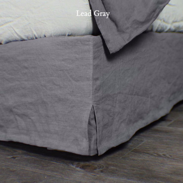 Linen Four Sided Bed Skirt - linenshed.au - 4