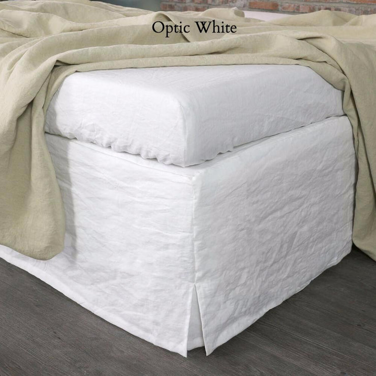 Linen Four Sided Bed Skirt - linenshed.au - 5