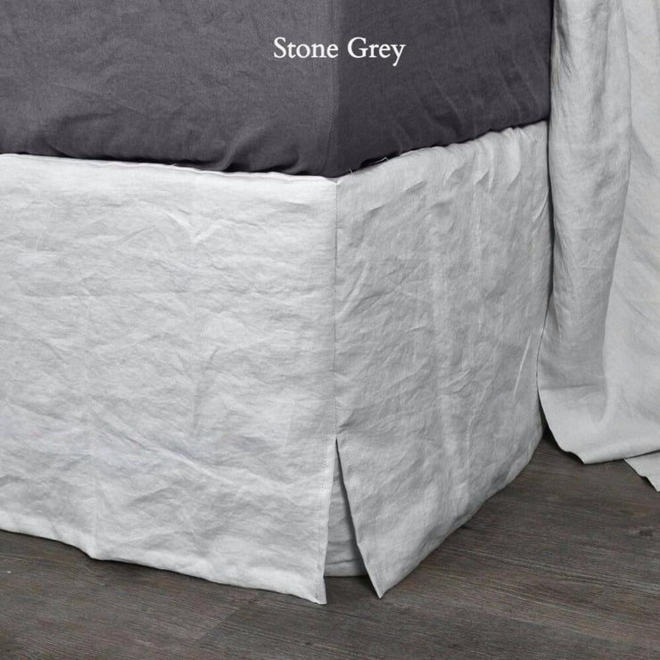 Linen Four Sided Bed Skirt - linenshed.au - 6