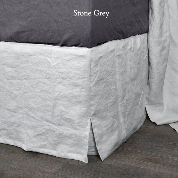 Buy Bed Valances Online Linen Bed Skirt Linenshed