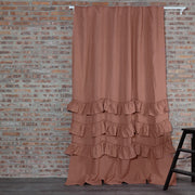 Waterfall Linen Window Curtain - linenshed.au - 1