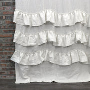 Waterfall Linen Window Curtain - linenshed.au - 9