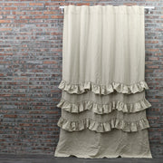 Waterfall Linen Window Curtain - linenshed.au - 6