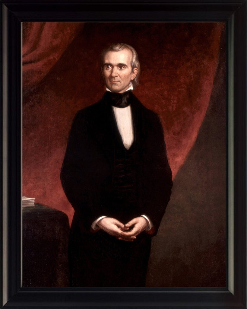 James K. Polk 8x10 Framed Photo