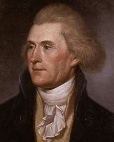 Thomas Jefferson 8x10 Photograph