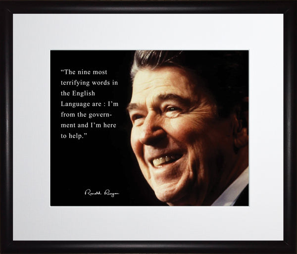 Ronald Reagan Framed Photo Picture 11x13
