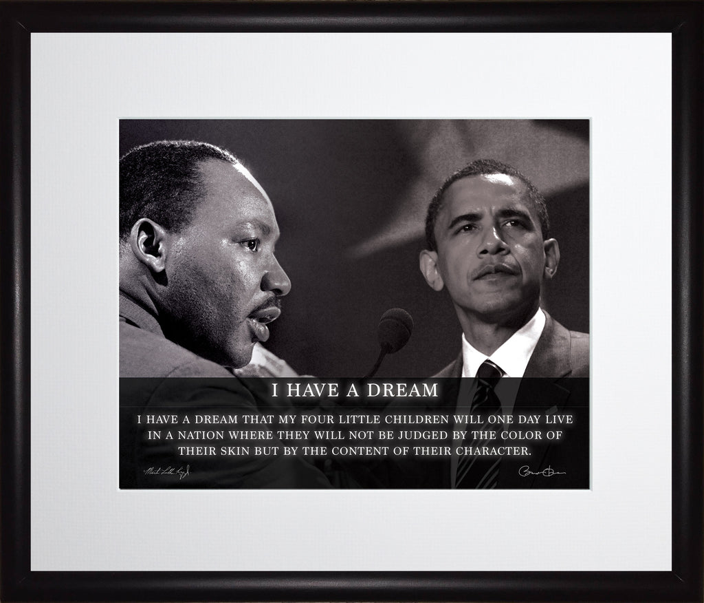 """Martin Luther King Jr /""""Change/"""" Quote Photo Picture Poster or Framed"""