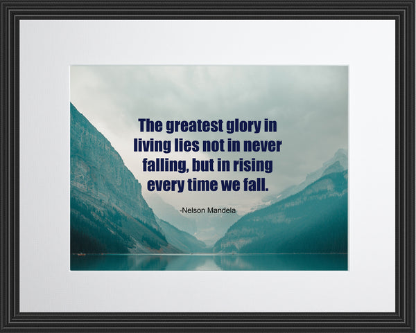 Nelson Mandela The Greatest Glory Poster, Print, Picture or Framed Photograph