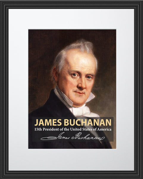 James Buchanan 15th President Poster, Print, Picture or Framed Photograph