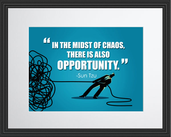 Sun-Tzu In The Midst Poster, Print, Picture or Framed Photograph