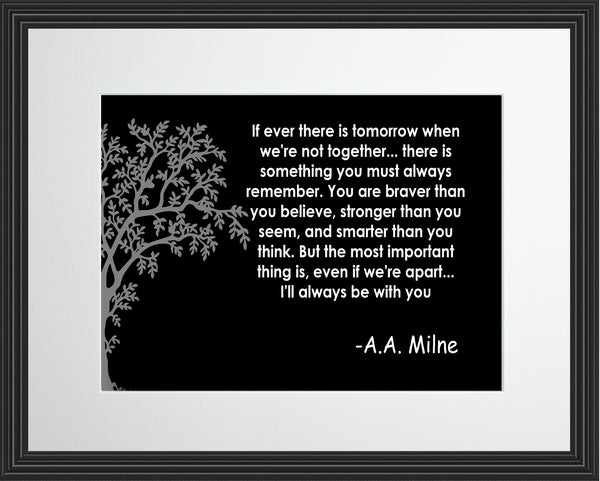 A. A. Milne If Ever There Poster, Print, Picture or Framed Photograph