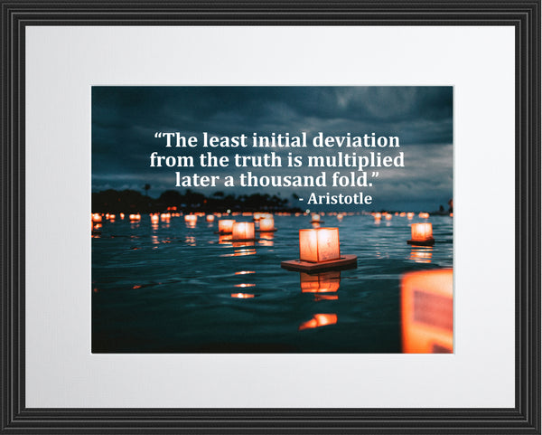 Aristotle The Least Initial Poster, Print, Picture or Framed Photograph