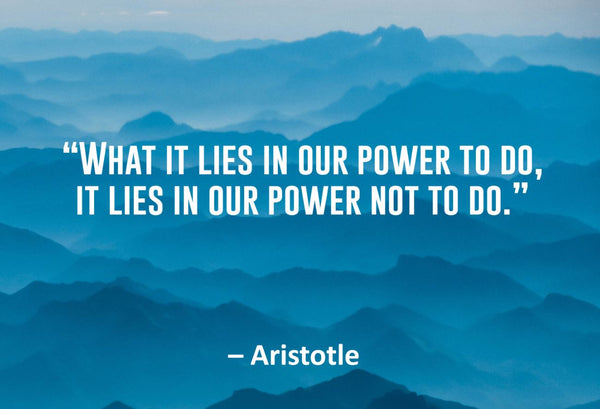 Aristotle What It Lies Poster, Print, Picture or Framed Photograph
