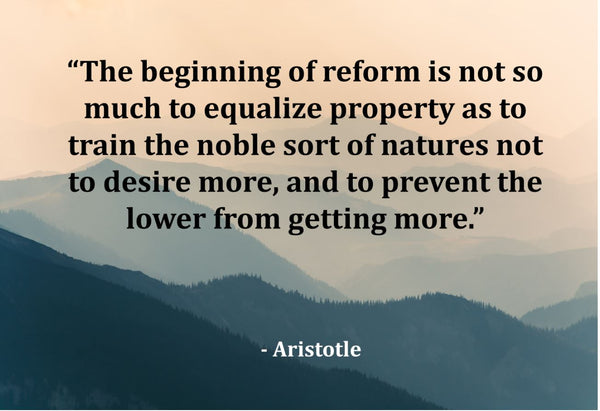 Aristotle The Beginning Of Poster, Print, Picture or Framed Photograph