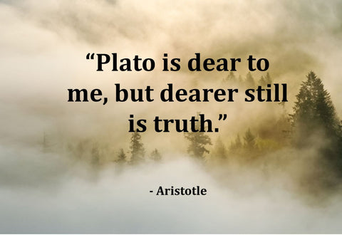 Aristotle Plato Is Dear Poster, Print, Picture or Framed Photograph