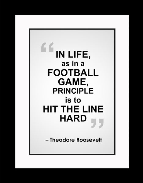 Theodore Roosevelt In Life As Poster, Print, Picture or Framed Photograph