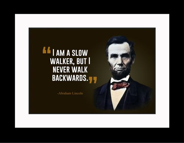Abraham Lincoln I Am A Poster, Print, Picture or Framed Photograph