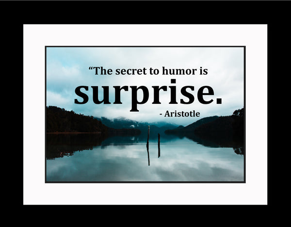 Aristotle The Secret To Poster, Print, Picture or Framed Photograph