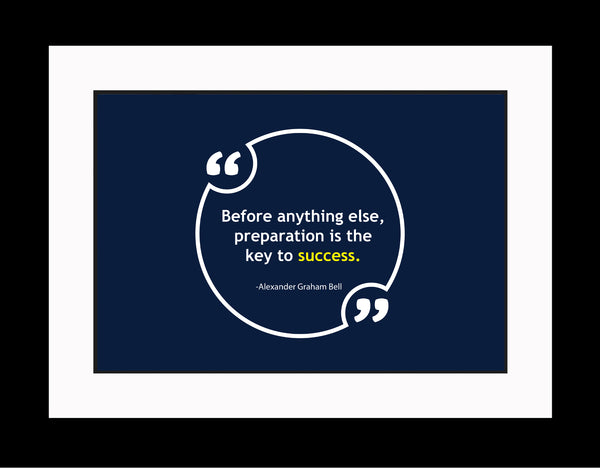Alexander Graham Bell Before Anything Else Poster, Print, Picture or Framed Photograph