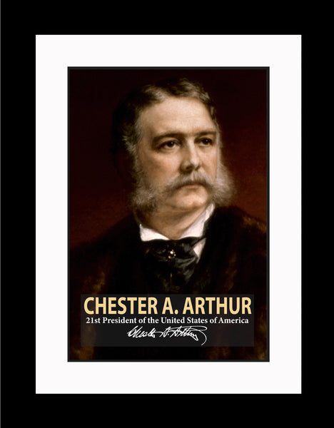 Chester A. Arthur 21st President Poster, Print, Picture or Framed Photograph