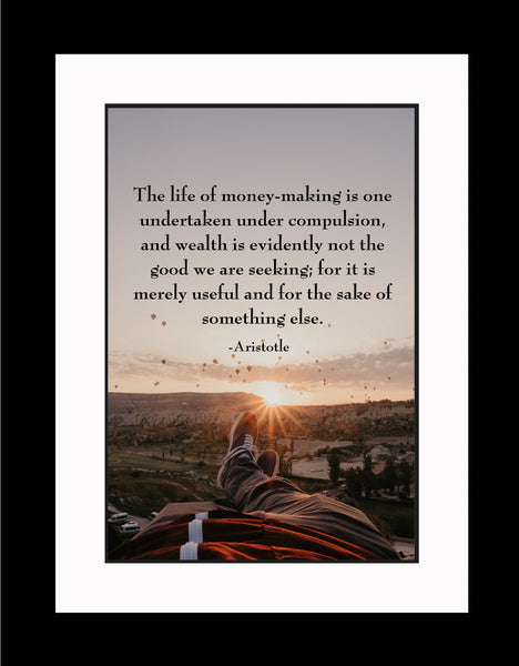Aristotle The Life Of Poster, Print, Picture or Framed Photograph