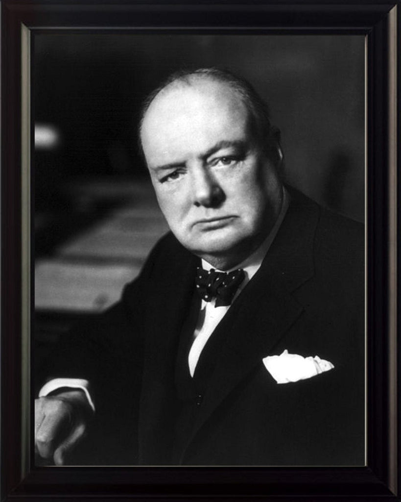 Winston Churchill 8x10 Framed Photo