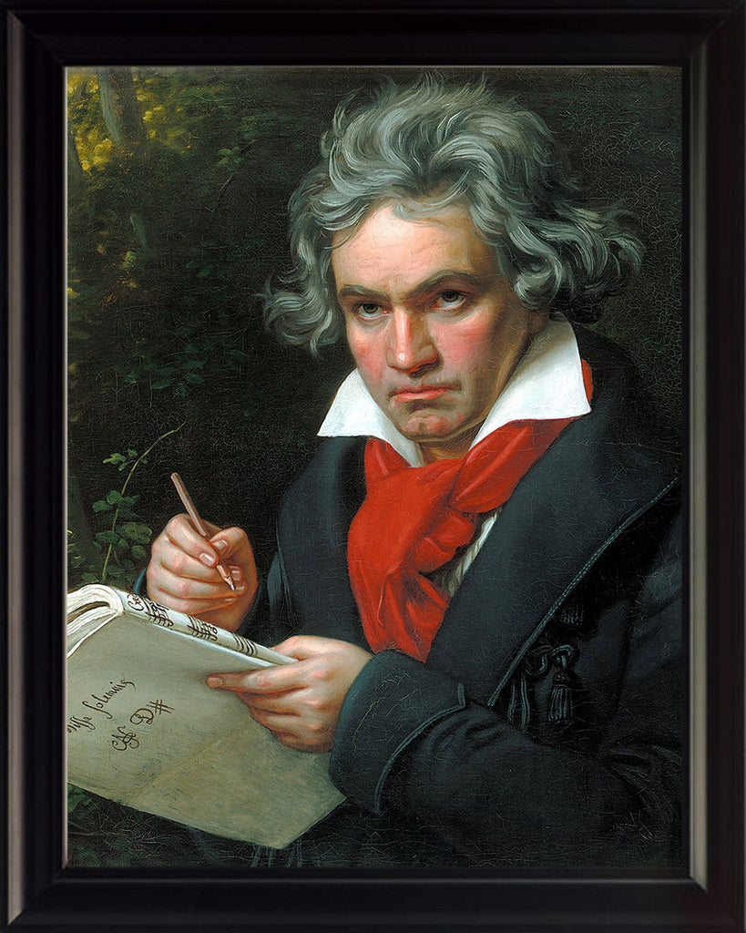 Ludwig Beethoven 8x10 Framed Photo