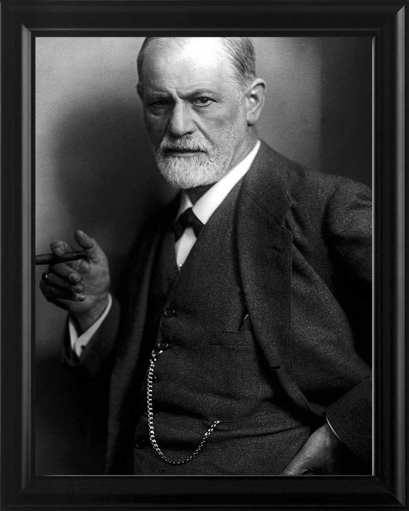 Sigmund Freud 8x10 Framed Photo