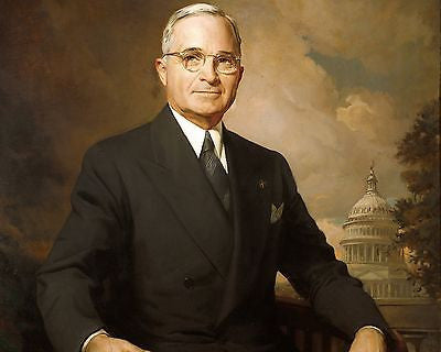 Harry S. Truman 8x10 High Quality Photo Picture