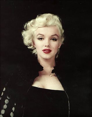 Marilyn Monroe 8X10 Color Photo