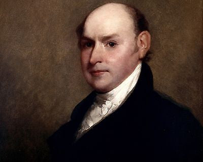 John Quincy Adams, American President, 8x10 High Quality Photo Picture
