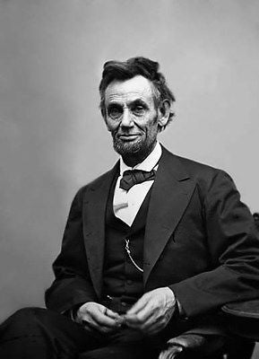 "President Abraham (Abe) Lincoln 8""x10"" Photograph Picture"