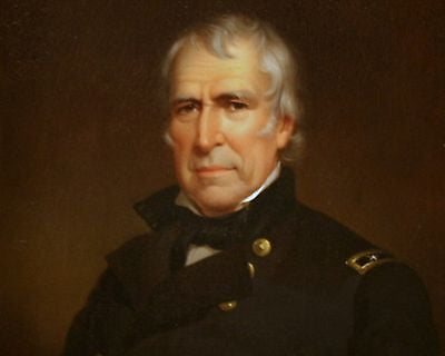 Zachary Taylor, American President, 8x10 High Quality Photo Picture