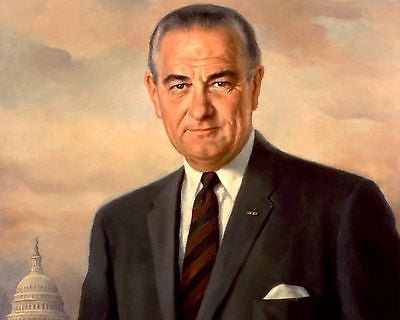 Lyndon B. Johnson 8x10 High Quality Photo Picture