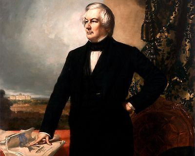 Millard Fillmore, American President, 8x10 High Quality Photo Picture