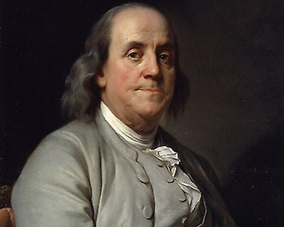 Benjamin Franklin 8x10 High Quality Photo Picture