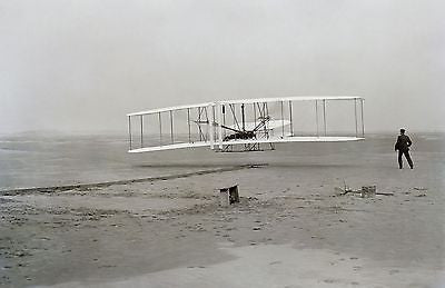 The Wright Brothers Wilbur and Orville Portraits/In Flight. 5-pack (8x10 photos)