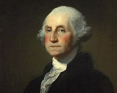 George Washington, American President, 8x10 High Quality Photo Picture