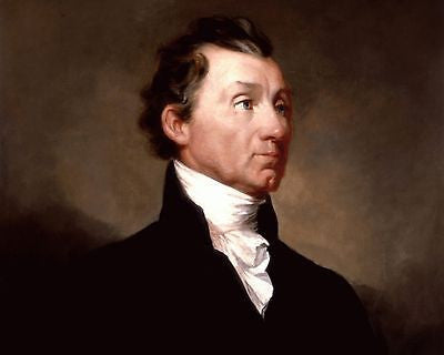 James Monroe, American President, 8x10 High Quality Photo Picture